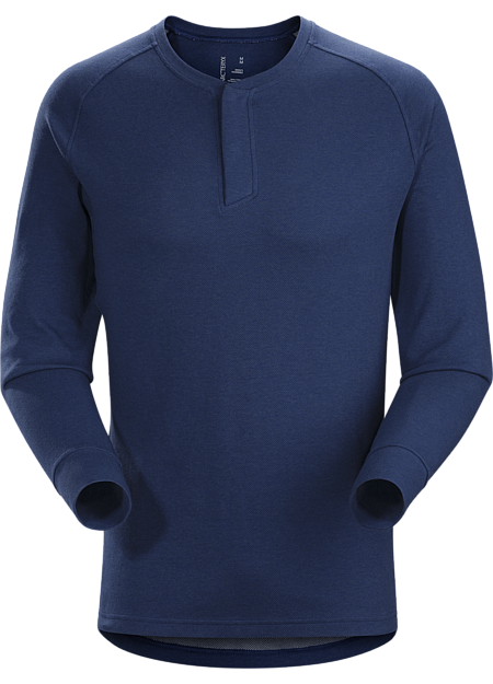 Sirrus Henley LS Men's Triton Heather