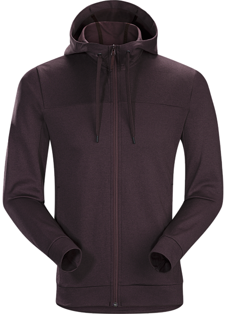 Classic zip-front hoody made from a comfortable lightweight performance fleece. Great on its own or as a casual midlayer.