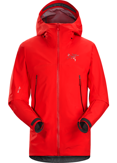Light and packable GORE-TEX® Pro jacket for backcountry ski and snowboard tours.