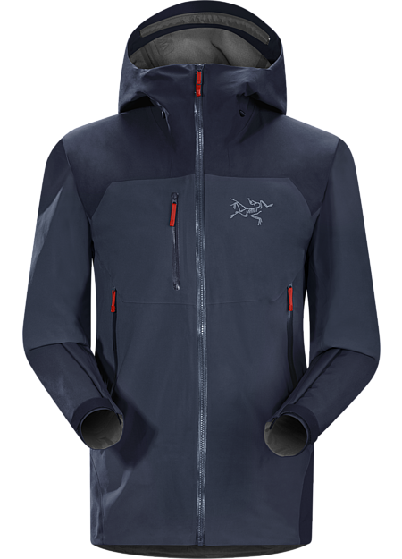 A hybrid GORE-TEX® jacket offering durability, weather protection and moderate warmth for big mountain skiing and snowboarding on and off piste.