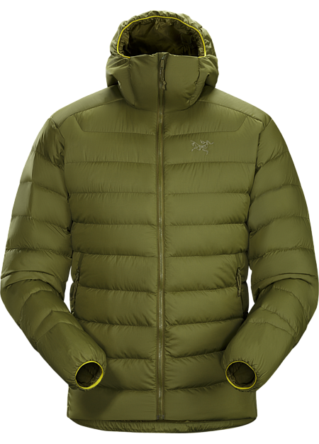 Generalist down hoody made from durable face fabrics and 750 fill grey goose down. Functions as a warm mid layer or standalone piece for cool, dry conditions. Down Series: Down insulated garments | AR: All-Round.