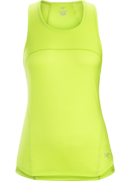 Lightweight, airy sleeveless top with excellent next-to-skin comfort. Designed for mountain training in hot weather.