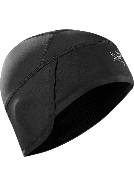 WINDSTOPPER® beanie designed for high output activity in cold weather features full ear coverage and air permeable side panels.