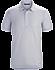 A2B Polo Shirt SS Men's Delos Grey