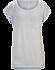 A2B Scoop Neck Shirt SS Women's Athena Grey