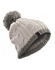 Cable Pom Pom Hat  Trillium/Fawn