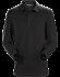 Captive Polo Shirt LS Men's Black/Black