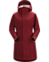 Durant Coat Women's Scarlet