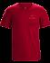 Emblem T-Shirt Men's Red Beach