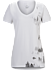 Morning V-Neck T-Shirt Women's White