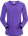 Motus Crew Neck Shirt LS Women's Mauveine