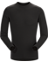 Satoro AR Crew Neck Shirt LS Men's Black
