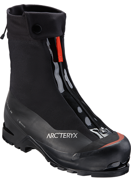 A pinnacle of design for mountaineering, ice and mixed climbing, the Acrux AR is the lightest, most durable, and lowest profile insulated double boot available. AR: All-Round. Includes 1 pair of GORE-TEX HIGH-LINERS.