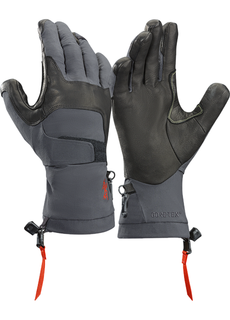 Lightly insulated, waterproof, technically oriented dexterous glove ideal for lead ice climbing and alpine routes. Alpha Series: Climbing and alpine focused systems | FL: Fast and Light.