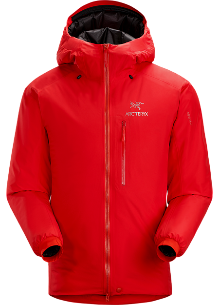 Insulated shell for harsh alpine environments. Alpha Series: Climbing and alpine focused systems | IS: Insulated.