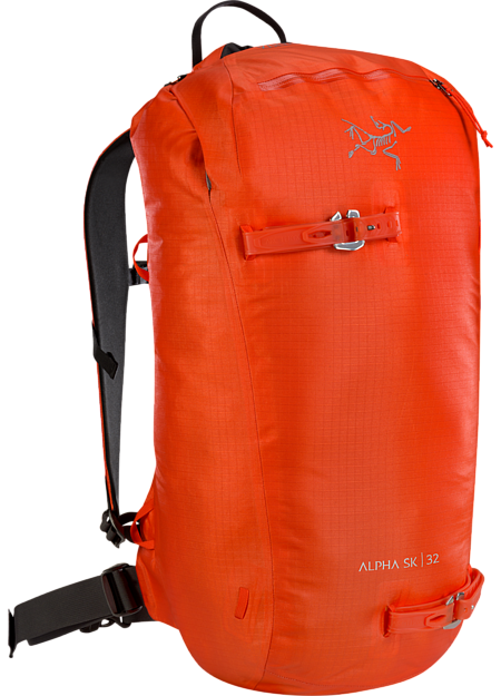 9258b81eaf9 Fast and light, durable, highly weather resistant customizable daypack for  ski touring and ski Alpha SK 32 Backpack