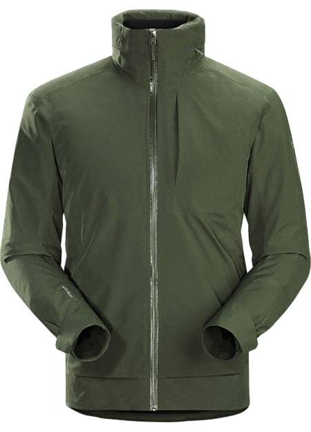 Refined Coreloft™ insulated GORE-TEX jacket for cool, wet urban environments.