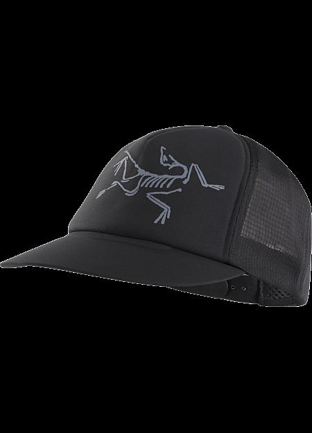 Bird Trucker Hat  Black