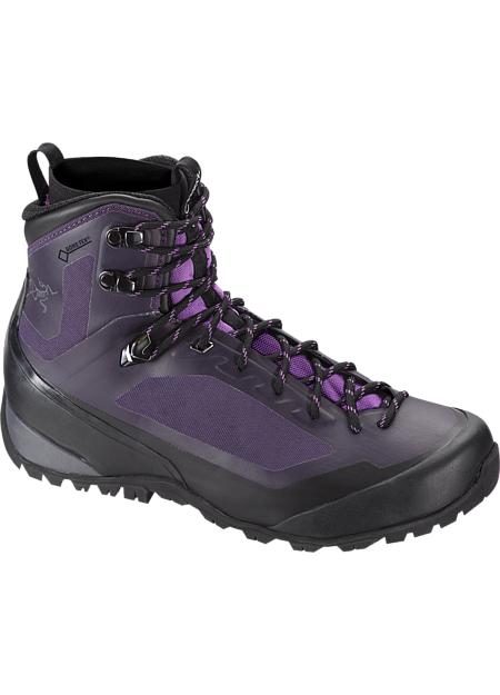 Durable, light, supportive multiday hiking footwear with GORE-TEX waterproof/breathable protection, Arc'teryx Adaptive Fit comfort, and a seamless thermolaminated upper.
