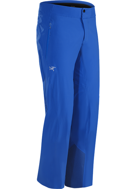 Dynamic stretch and GORE-TEX protection in a streamlined men's ski pant.