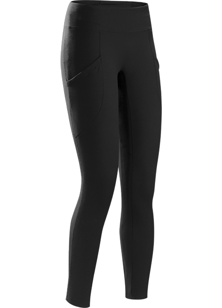 Sleek ankle length leggings with excellent stretch and casual style.