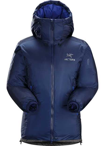 Technically advanced down parka with a water-resistant GORE THERMIUM™ shell. Down Series: Down insulated garments | AR: All Round.