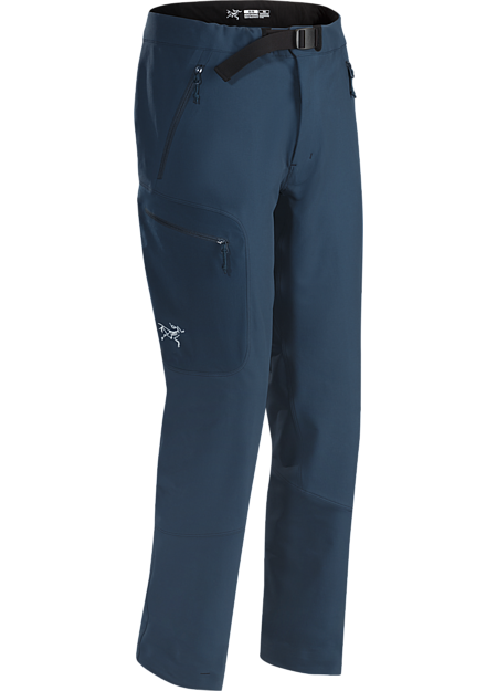 Trim fitting, technical, all round softshell pant created for alpine and rock climbing in three season conditions. Provides stretch and abrasion resistance with thermal performance and protection. Gamma Series: Softshell outerwear with stretch | AR: All Round.