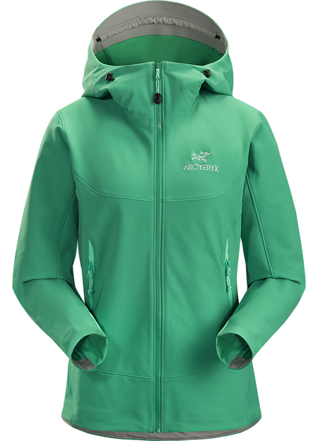 e55ea94ab5d9 Light, durable, versatile women's softshell hoody offering wind and weather  protection, air permeable