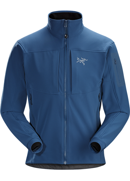 c0460dd3aea9 Breathable, articulated soft shell jacket; ideal for alpine climbing and  backcountry activities. Gamma