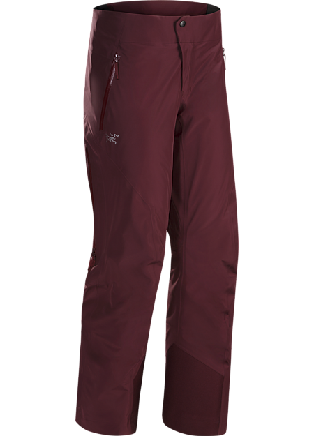On area GORE-TEX waterproof pants have light, warm Coreloft™ synthetic insulation and a low profile design for streamlined performance on colder days.