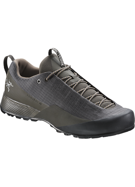 Stable, supportive precision-fit approach shoe for fast, light mountain travel.