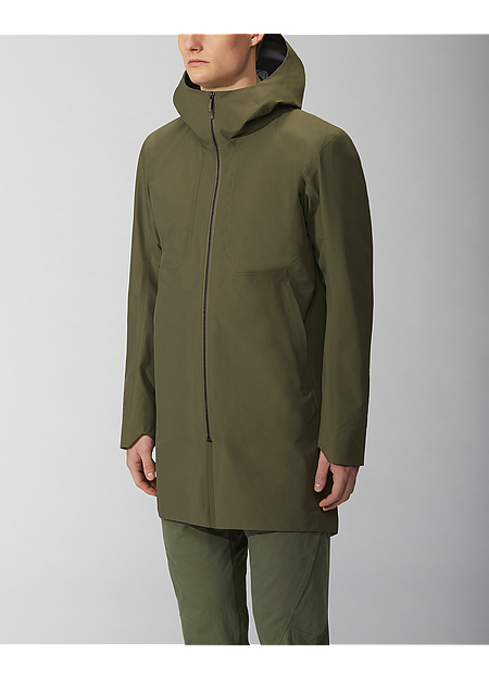 Monitor Coat Men's Mortar