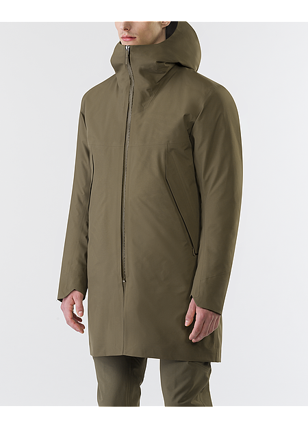 Monitor Down Coat Men's Mortar