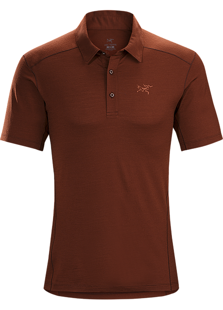 3c524471cbc7 Lightweight Merino wool polo shirt designed for hiking, trekking and travel  delivers natural fibre comfort