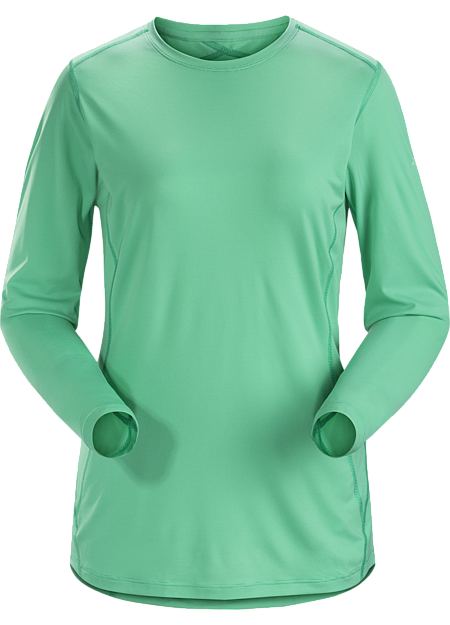 Silkweight Phasic™ baselayer top for high output in cooler temperatures, Phase Series: Moisture wicking base layer | SL: Superlight.