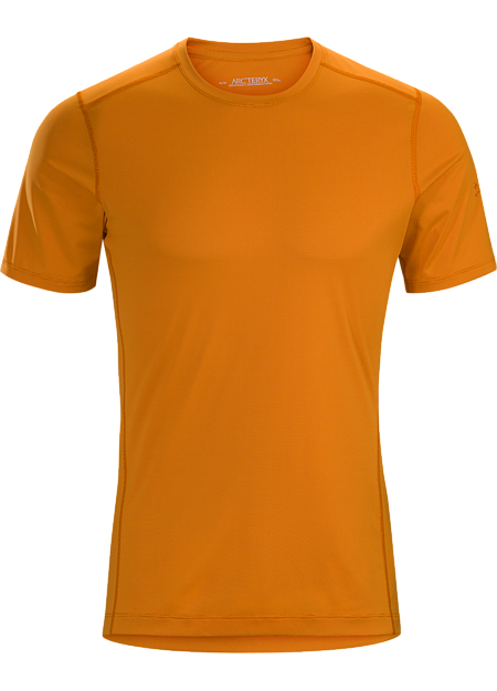 Silkweight Phasic™ short-sleeve base layer for high output in cooler temperatures.  Phase Series: Moisture wicking base layer | SL: Superlight.