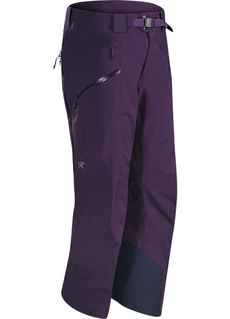 Lightly insulated, waterproof, GORE-TEX pant with a Slide 'n Loc™ snap system that attaches to compatible jackets. Maintains the freeride styling but has a more contemporary look with Regular fit.