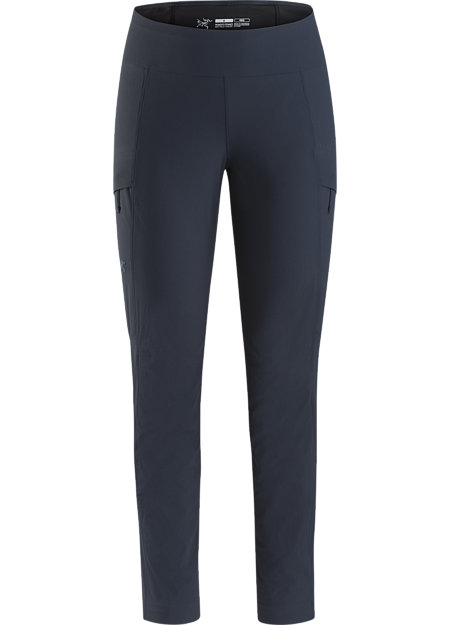 Technical hiking pant with performance stretch and a streamlined trim fit.