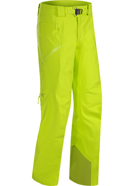 Women's GORE-TEX big mountain ski and snowboard pants with a warm flannel liner, exceptional freedom of movement, and performance fit.