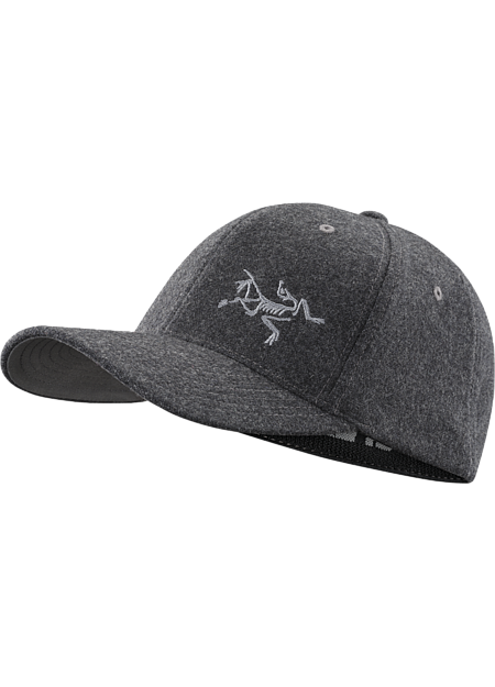 Casquette Wool Ball  Heather Charcoal