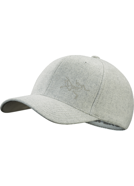 ac03b893290 Wool Ball Cap Light Grey Heather