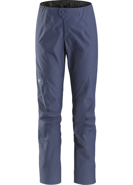 Superlight, packable and waterproof GORE-TEX hiking emergency shell pant. Zeta Series: Hiking and trekking apparel. | SL: Superlight.