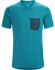 Anzo T-Shirt Men's Dark Firoza