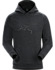 Archaeopteryx Pullover Hoody Men's New Black Heather