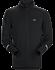 Cormac Zip Neck Shirt LS Men's Black