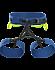 FL-355 Harness Women's Poseidon/Titanite