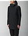 Monitor Coat Men's Black