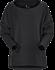 Nyara Boatneck Pullover Women's Black Heather