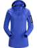 Rho LT Hooded Zip Neck Women's Iolite