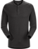 Sirrus Henley LS Men's Black Heather